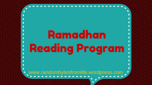 reading program, ramadhan, islam