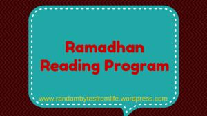 reading program, ramadhan, islam